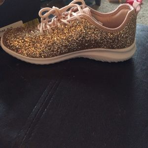 Other - Rose Gold Glitter Sneakers